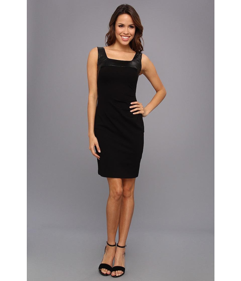 Kenneth Cole New York Valentina Dress Womens Dress (Black)