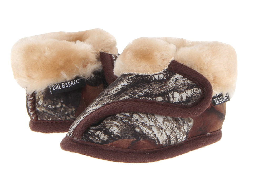 M&F Western - Fleece Lined Slippers (Infant/Toddler) (Mossy Oak Camo) Men's Slippers