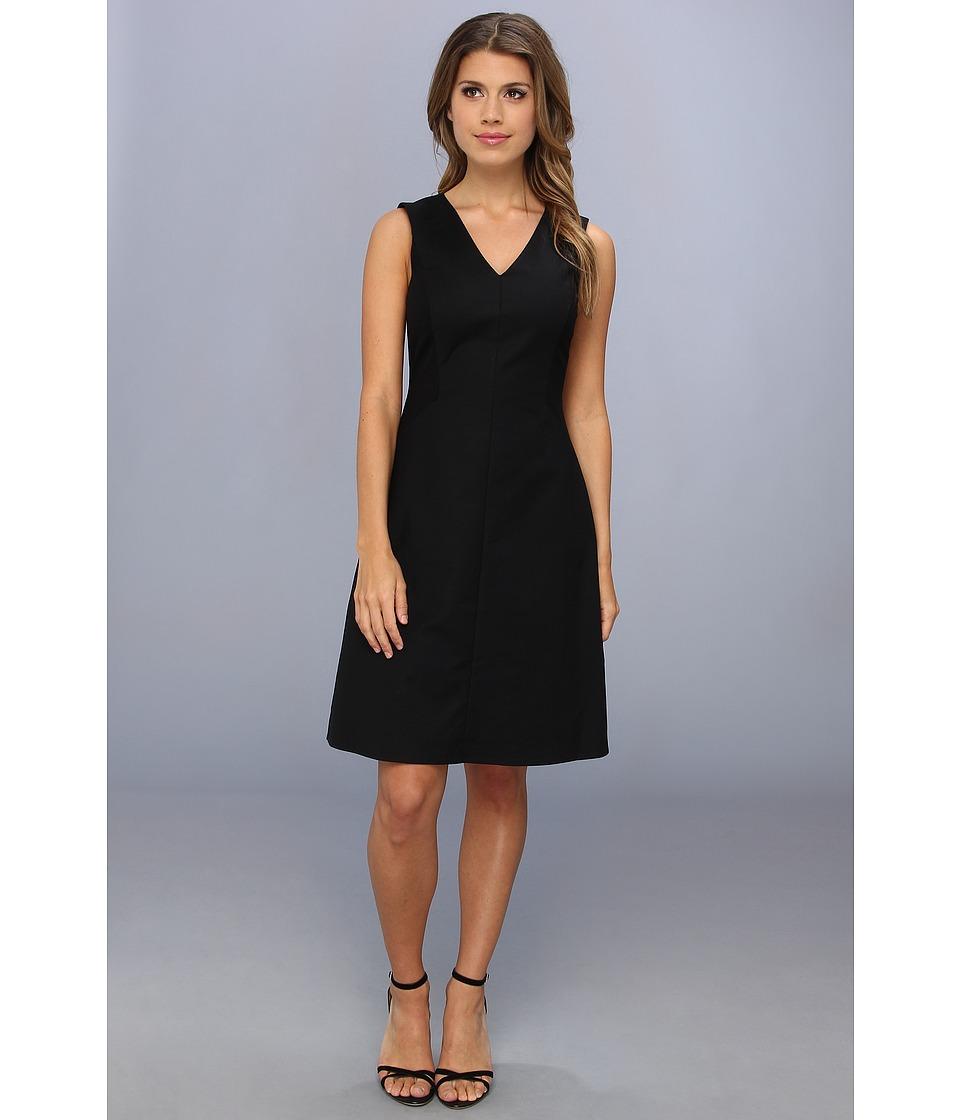 Kenneth Cole New York Cailey Dress Womens Dress (Black)