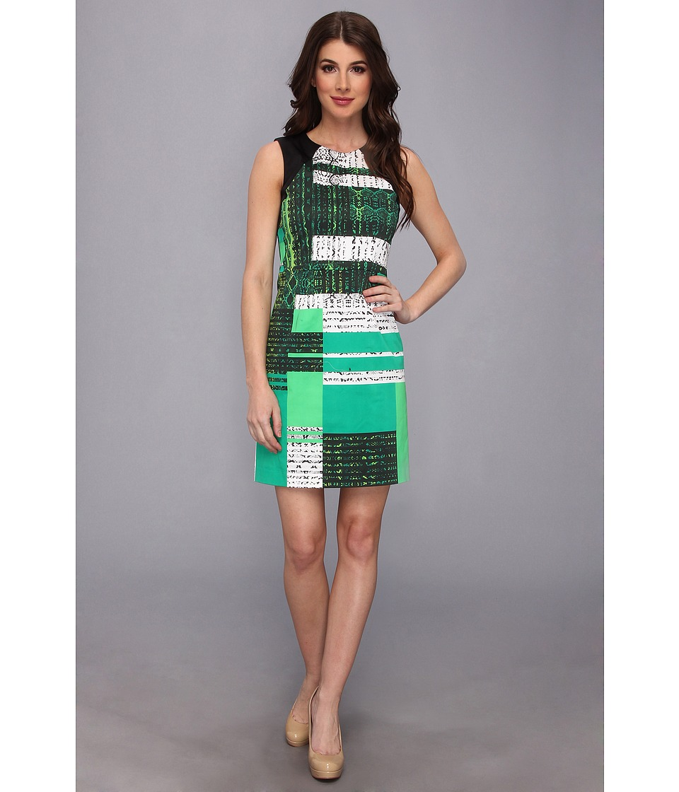 Kenneth Cole New York Fleur Dress Womens Dress (Multi)
