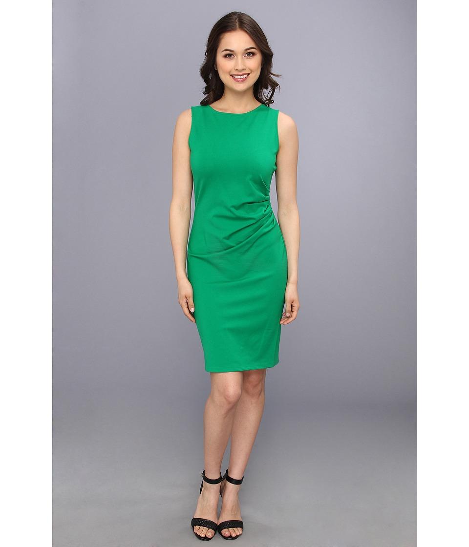 Kenneth Cole New York Hilary Dress Womens Dress (Green)