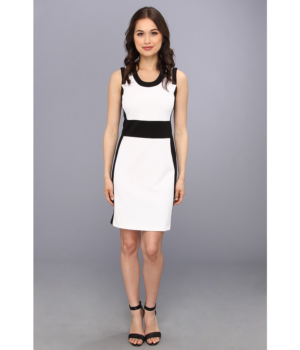 Kenneth Cole New York Clarisse Dress Womens Dress (White)