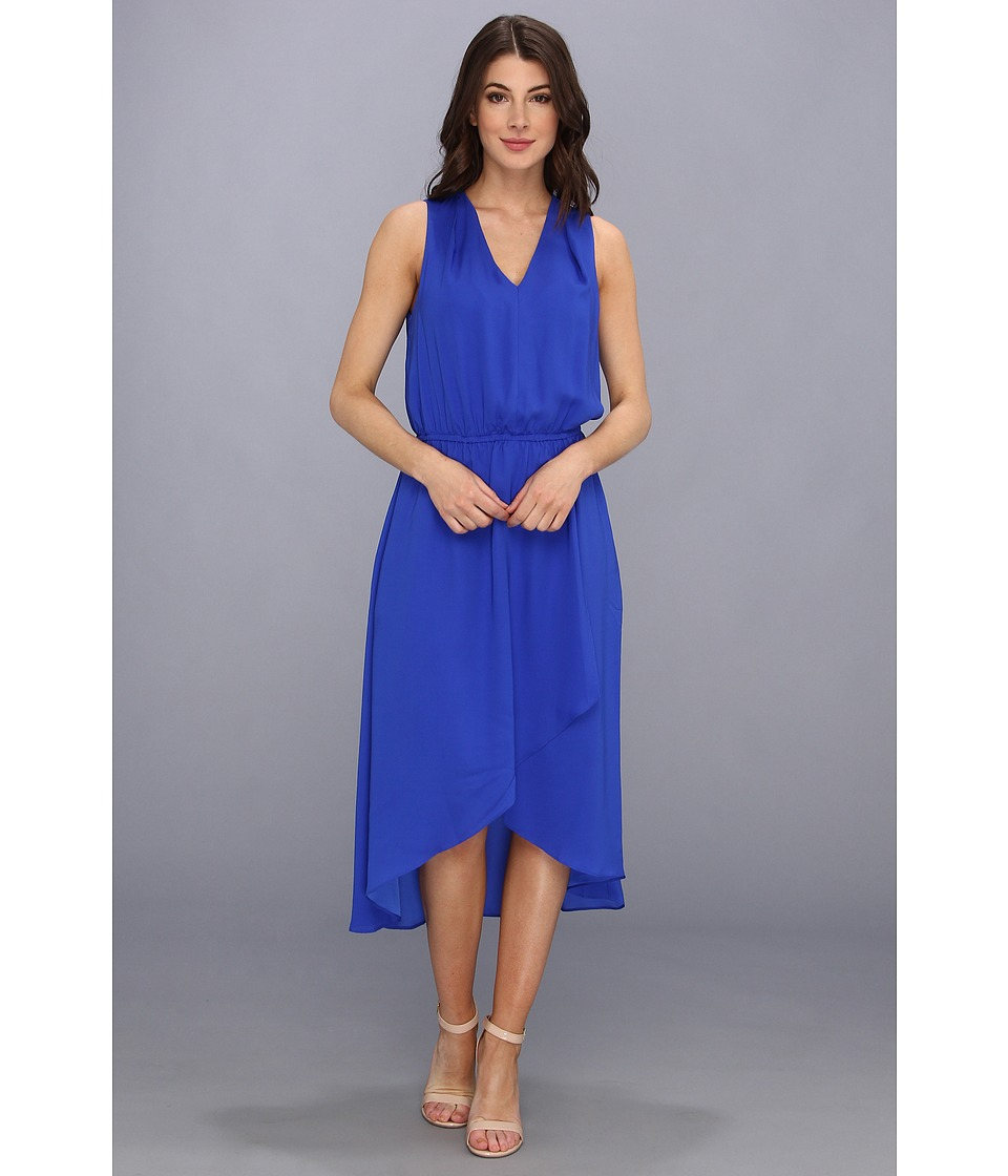 Kenneth Cole New York Geraldine Dress Womens Dress (Blue)