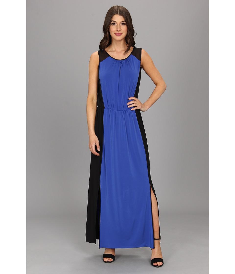Kenneth Cole New York Wendy Dress Womens Dress (Blue)
