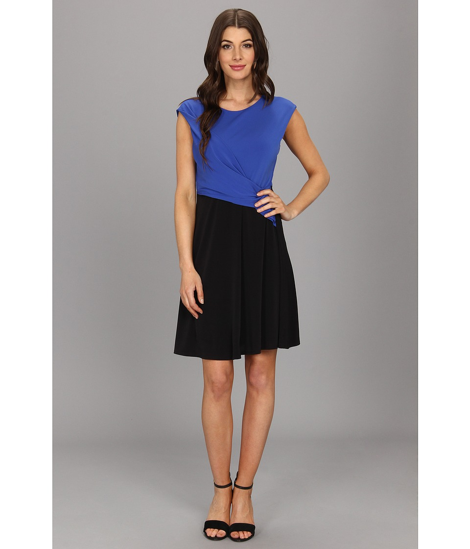 Kenneth Cole New York Kasia Dress Womens Dress (Blue)