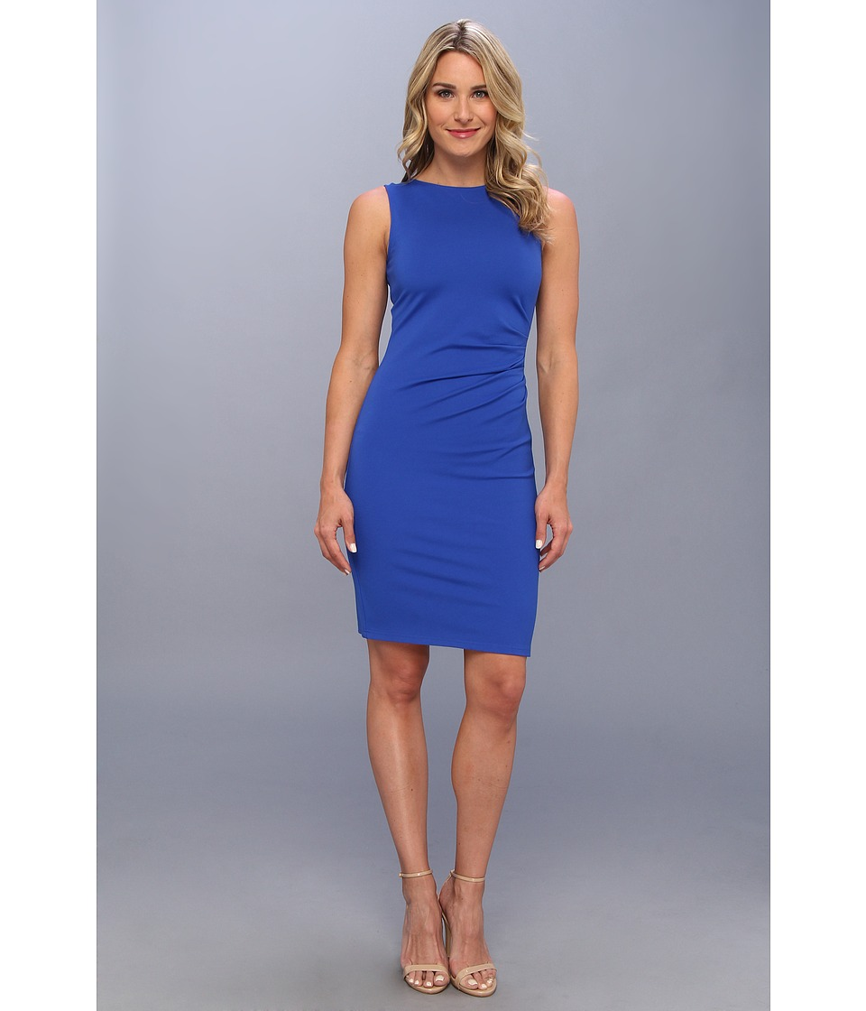 Kenneth Cole New York Hilary Dress Womens Dress (Blue)