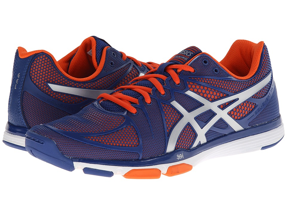 ASICS - GEL-Exert TR (Dark Blue/Silver/Orange) Men's Cross Training Shoes