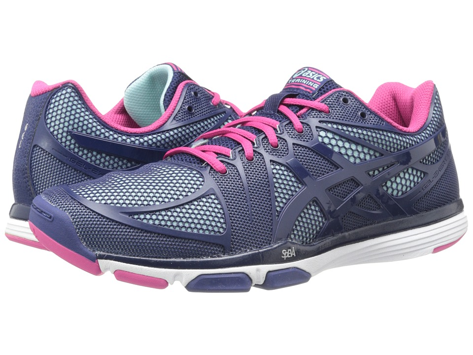 ASICS - GEL-Exert TR (China Blue/Illusion) Women's Cross Training Shoes