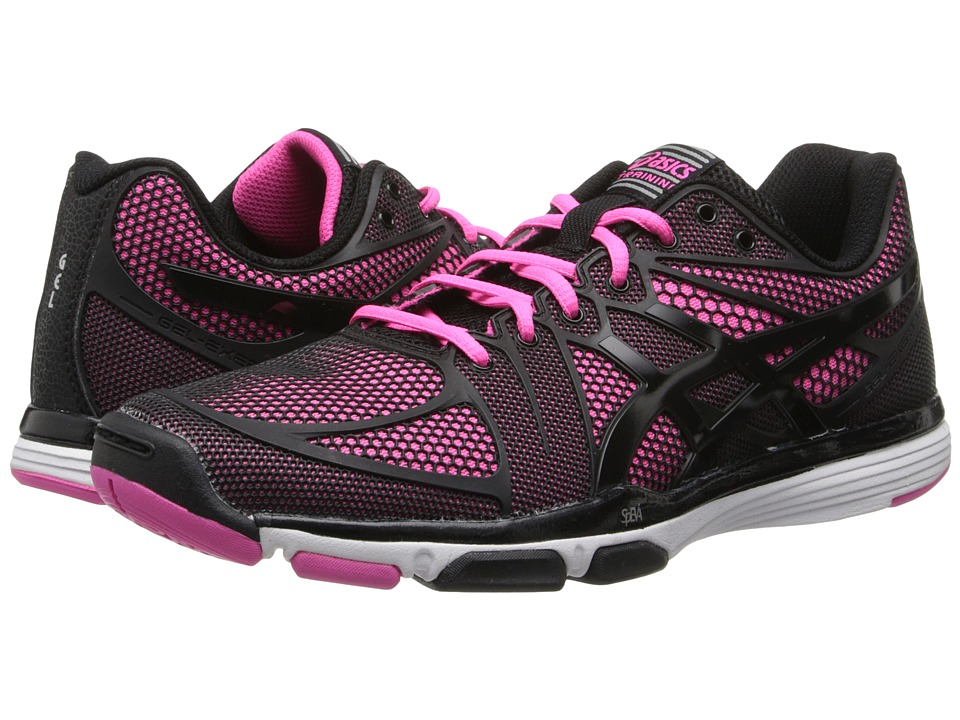 ASICS - GEL-Exert TR (Black/Black/Knockout Pink) Women's Cross Training Shoes