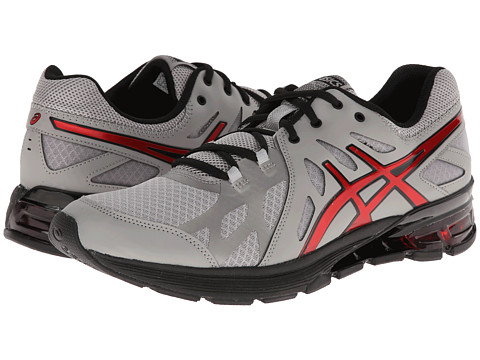 ASICS - GEL-Defiant (Titanium/Red/Black) Men's Cross Training Shoes