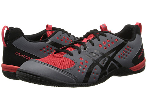 ASICS - GEL-Fortius TR (Graphite/Black/True Red) Men's Cross Training Shoes