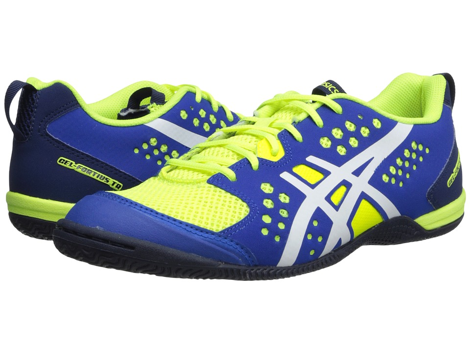 ASICS - GEL-Fortius TR (Flash Yellow/White/Royal Blue) Men's Cross Training Shoes