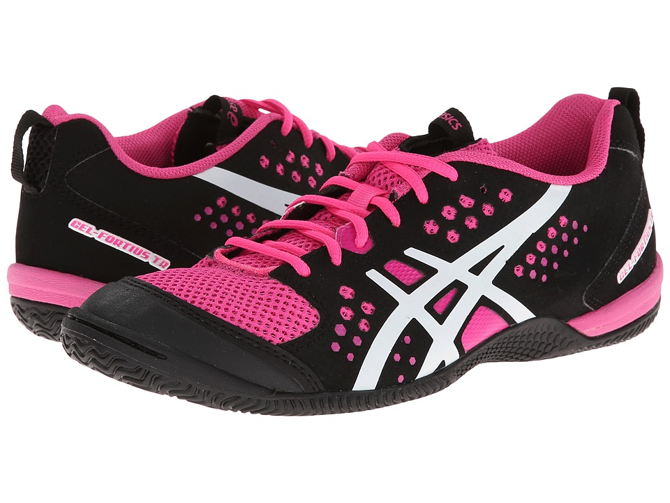 ASICS - GEL-Fortius TR (Black/White/Knockout Pink) Women's Cross Training Shoes