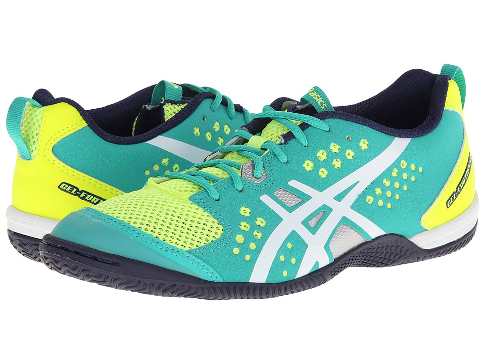 ASICS - GEL-Fortius TR (Flash Yellow/White/Medival Blue) Women's Cross Training Shoes