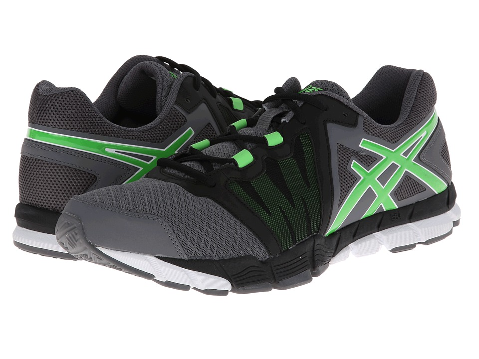 ASICS - GEL-Craze TR (Titanium/Flash Green/Black) Men's Cross Training Shoes