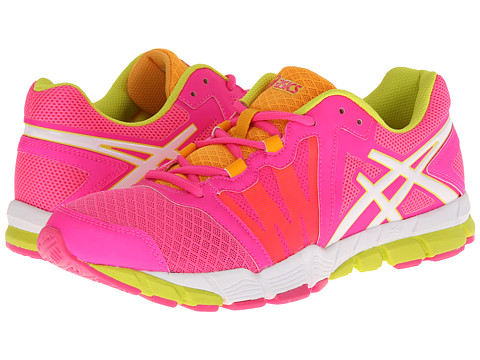 ASICS - GEL-Craze TR (Pink Glo/White/Sulfur) Women's Cross Training Shoes