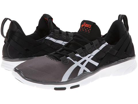ASICS - GEL-Fit Sana (Black/White/Coral) Women