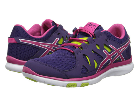 ASICS - GEL-Fit Tempo (Purple/Hot Pink/Lime) Women
