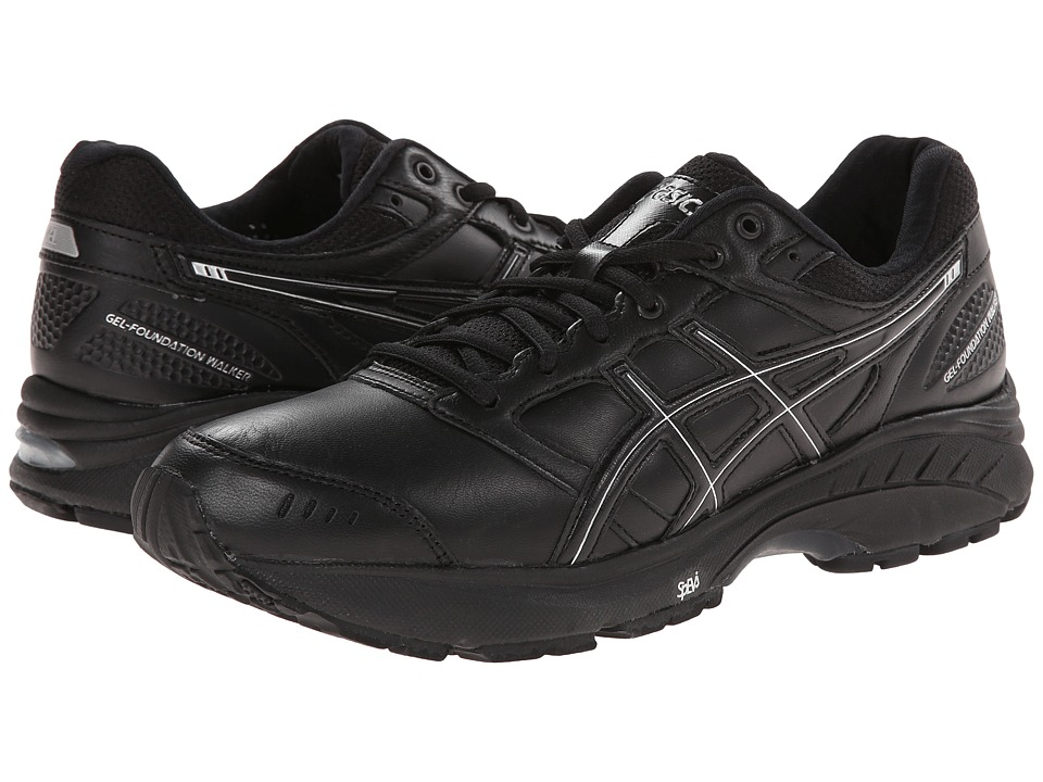ASICS GEL-Foundation Walker 3 (Black/Onyx/Silver) Men