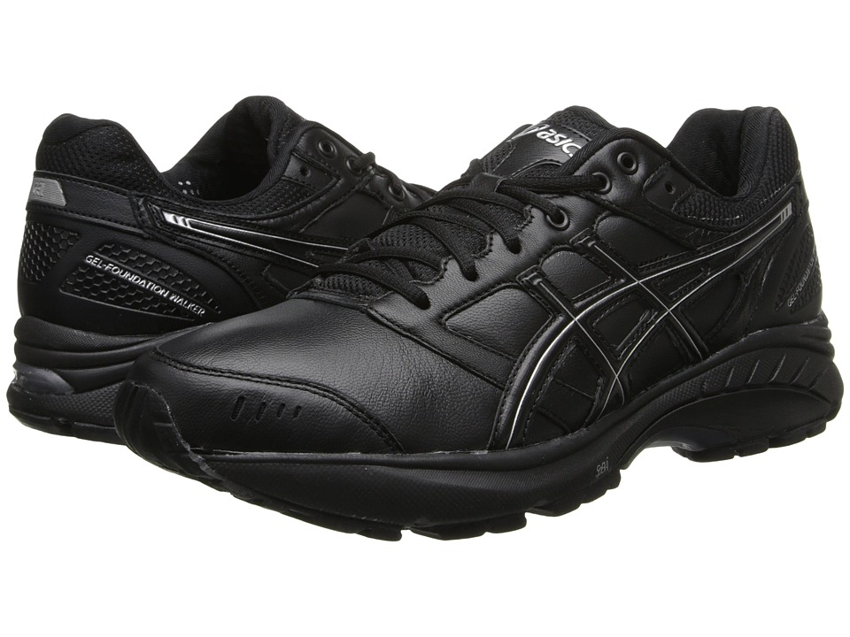 ASICS - GEL-Foundation Walker 3 (Black/Onyx/Silver) Women's Walking Shoes