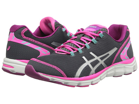 ASICS - GEL-Frequency 2 (Castle Rock/Silver/Pink) Women's Cross Training Shoes