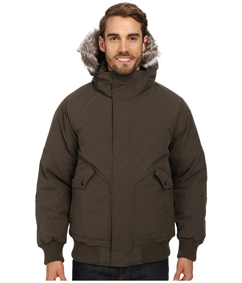 The North Face - Warrent Bomber (Black Ink Green) Men