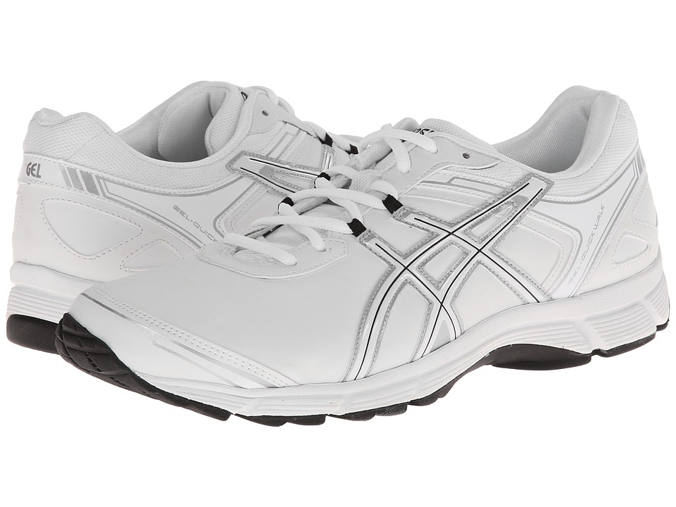 ASICS - GEL-Quickwalk 2 SL (White/Silver) Men's Walking Shoes