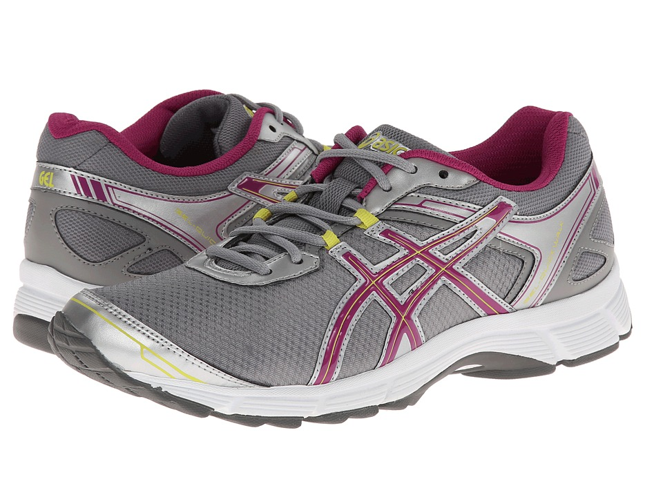 ASICS - GEL-Quickwalk 2 (Silver/Boysenberry/Citron) Women's Running Shoes