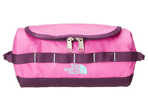 The North Face - Base Camp Travel Canister - Small (Violet Pink/Mint Blue) Luggage