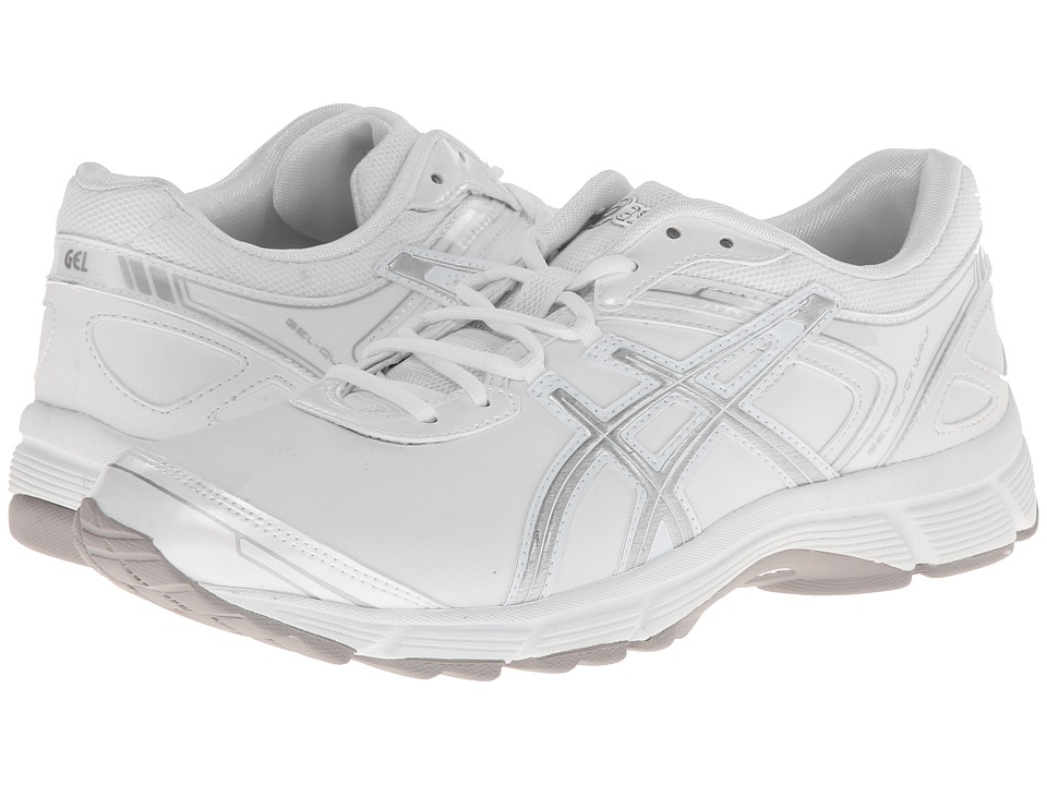 ASICS - GEL-Quickwalk 2 SL (White/Silver) Women's Walking Shoes