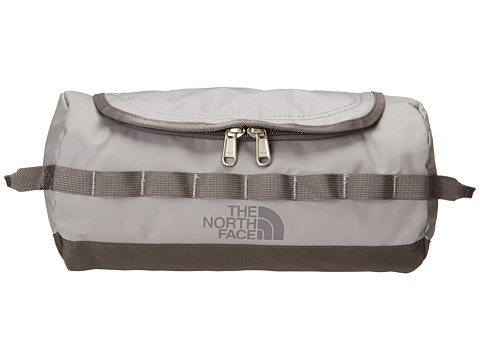 The North Face - Base Camp Travel Canister - Large (Zinc Grey/Graphite Grey) Toiletries Case