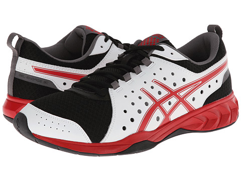 ASICS - GEL-Engage 3C (White/Red/Black) Men
