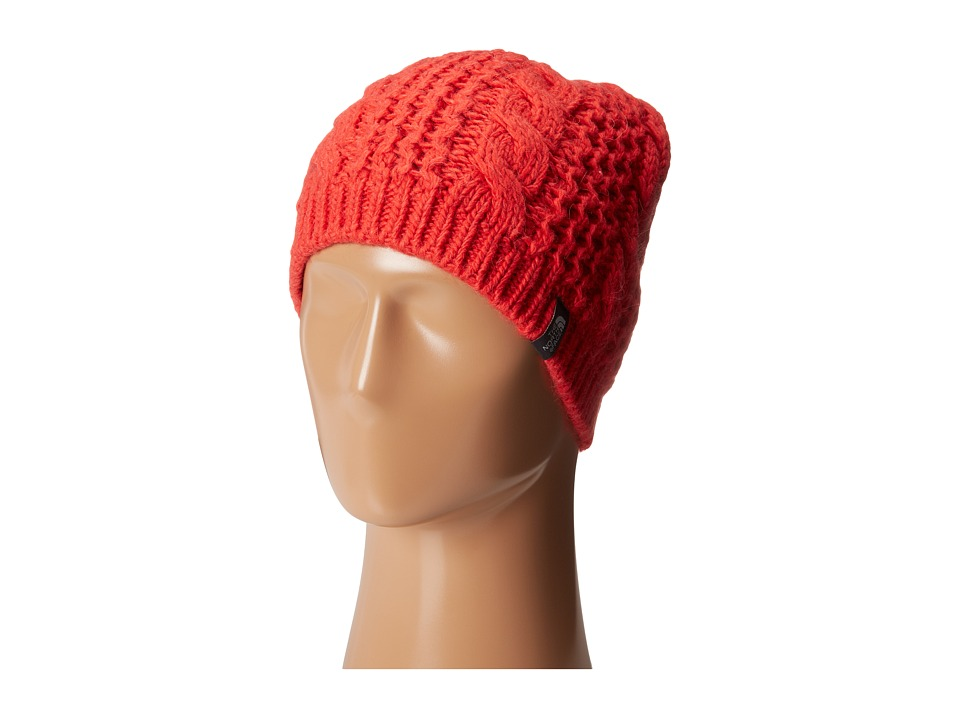 The North Face - Cable Minna Beanie (Rambutan Pink) Beanies