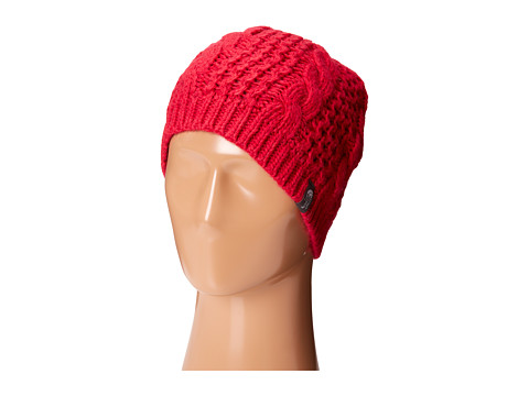 The North Face - Cable Minna Beanie (Cerise Pink) Beanies
