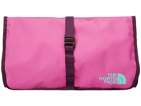 The North Face - Base Camp Roll Kit (Violet Pink/Mint Blue) Toiletries Case