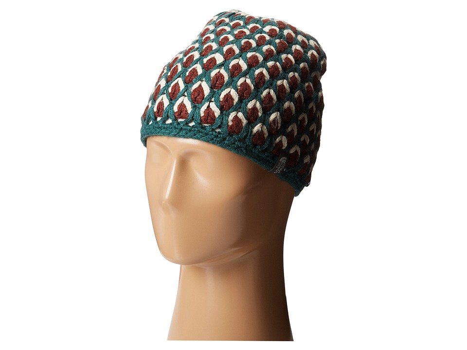 The North Face - Briar Beanie (Deep Teal Blue) Beanies