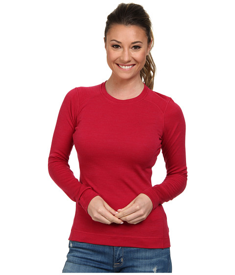Smartwool - Midweight Crew (Persian Red Heather) Women