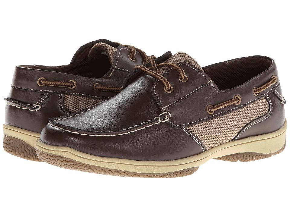 Deer Stags Kids Jay Boys Shoes (Brown)
