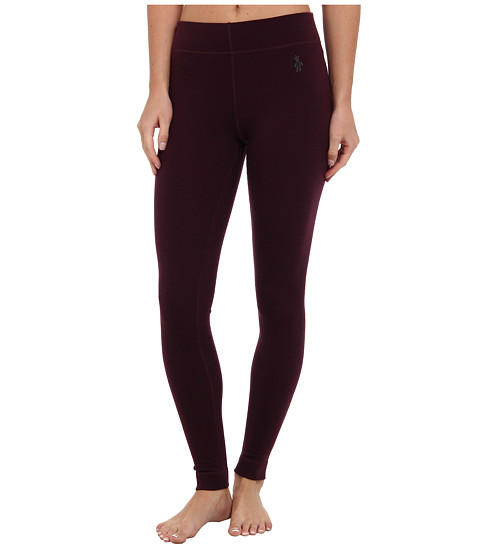 Smartwool - Midweight Wool Bottom (Aubergine Heather) Women's Casual Pants