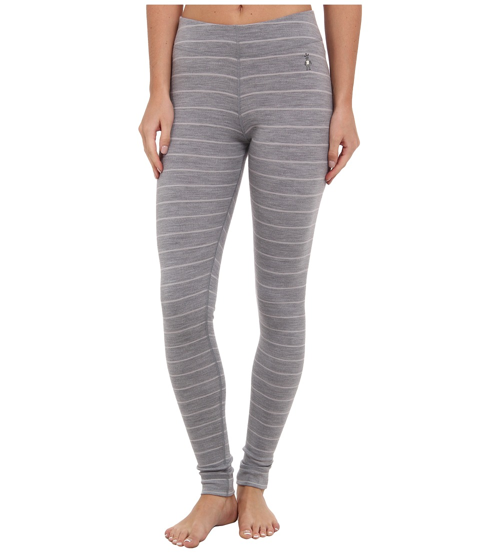 Smartwool - Midweight Wool Pattern Bottom (Silver Gray Heather/Natural) Women's Casual Pants