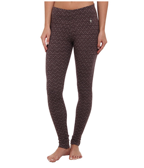 Smartwool - Midweight Wool Pattern Bottom (Taupe Heather) Women's Casual Pants
