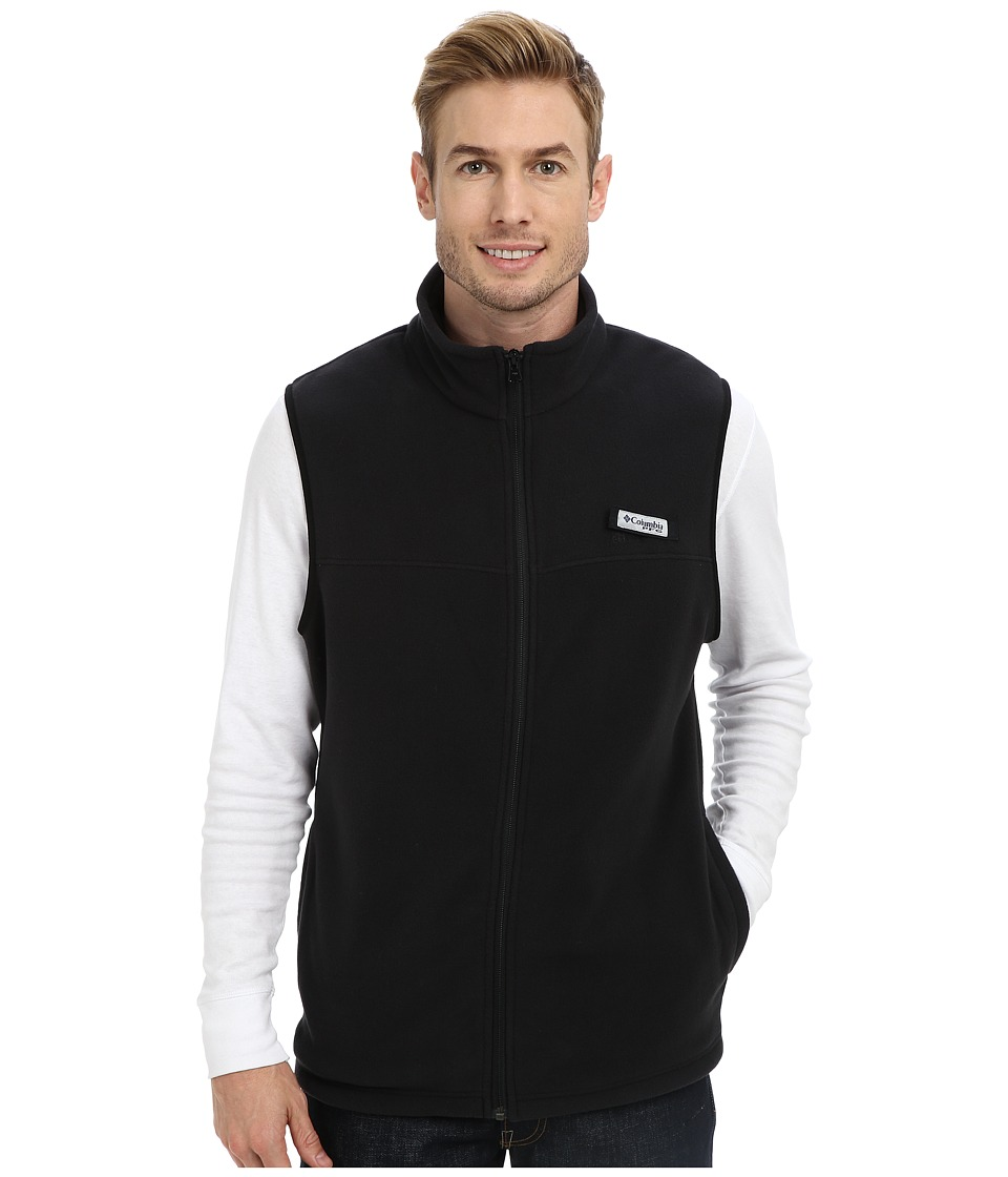 Columbia Harborside Fleece Vest (Black) Men