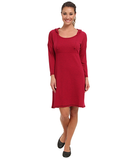 The North Face - 3/4 Sleeve Elmira Dress (Cerise Pink Heather) Women's Dress