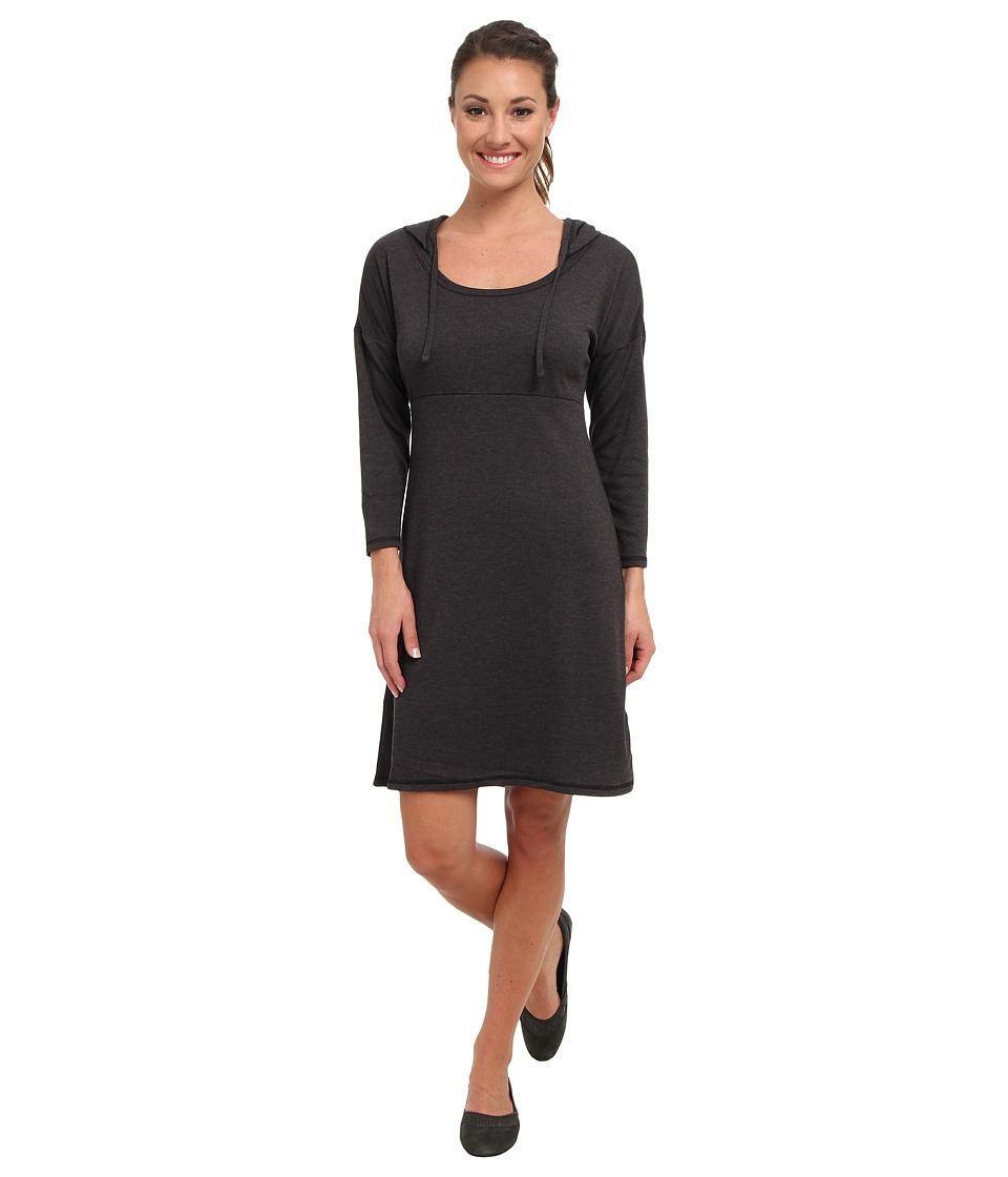 The North Face - 3/4 Sleeve Elmira Dress (Charcoal Grey Heather) Women's Dress