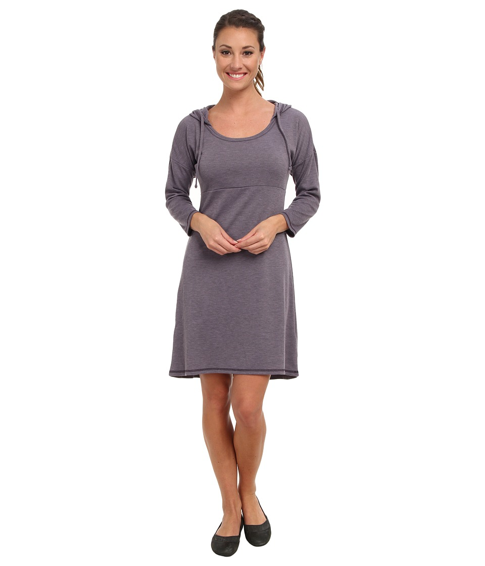 The North Face - 3/4 Sleeve Elmira Dress (Purple Sage Heather) Women's Dress