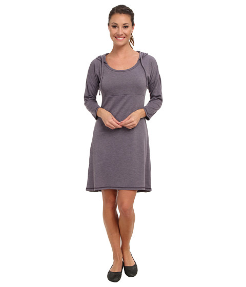 The North Face - 3/4 Sleeve Elmira Dress (Purple Sage Heather) Women