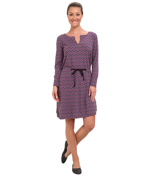 The North Face - Starrett Dress (Purple Sage Zigzag Print) Women