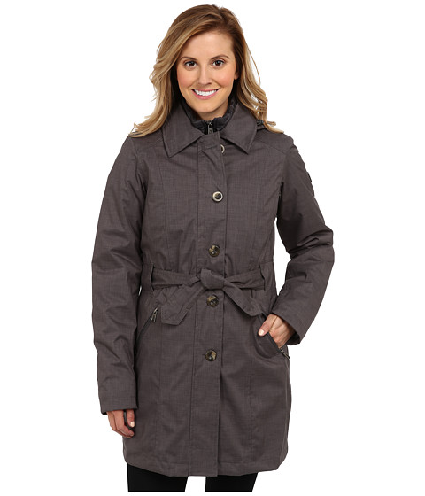 The North Face - Riverdale Trench Triclimate Jacket (Graphite Grey Melange) Women