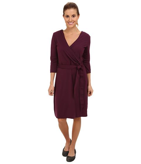 Smartwool - Maybell 3/4 Dress (Aubergine) Women's Dress