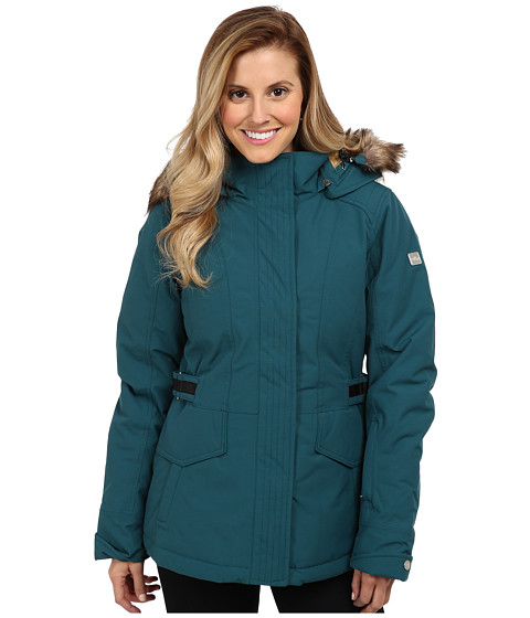 The North Face - Tremaya Crop Jacket (Deep Teal Blue) Women